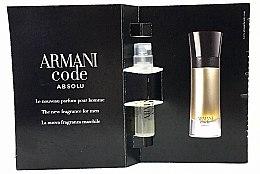 Düfte, Parfümerie und Kosmetik Giorgio Armani Code Absolu - Parfum (Tester)