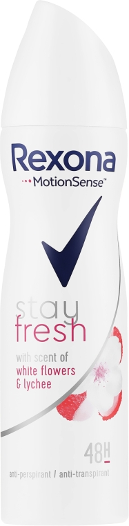 Deospray Antitranspirant - Rexona Stay Fresh White Flowers & Lychee Spray