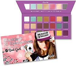 Düfte, Parfümerie und Kosmetik Lidschattenpalette - Rude Blackjack Eyeshadow Palette