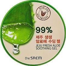 Düfte, Parfümerie und Kosmetik Körpergel mit Aloe Vera - The Saem Jeju Fresh Aloe Soothing Gel 99%