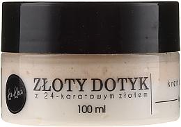 Düfte, Parfümerie und Kosmetik Gesichtscreme mit 24K Gold - Lalka