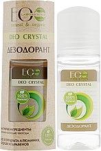 Düfte, Parfümerie und Kosmetik Antitranspirant Deo mit natürlichen Ölen und Extrakten - ECO Laboratorie Deo Crystal