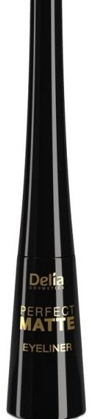 Mattierender flüssiger Eyeliner - Delia Cosmetics Perfect Matte Eyeliner