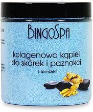 Düfte, Parfümerie und Kosmetik Nagelhautbadesalz mit Kollagen und Gingseng - BingoSpa Collagen Bath For Cuticles And Nails With Ginseng
