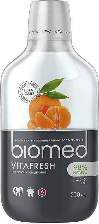 Antibakterielle Mundspülung für frischen Atem - Biomed Citrus Fresh Mouthwash