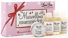 Düfte, Parfümerie und Kosmetik Körperpflegeset - Love Boo Marvellous Mummy Kit (Körpercreme 25ml + Körperöl 50ml + Duschgel 50ml + Schaumbad 50ml)