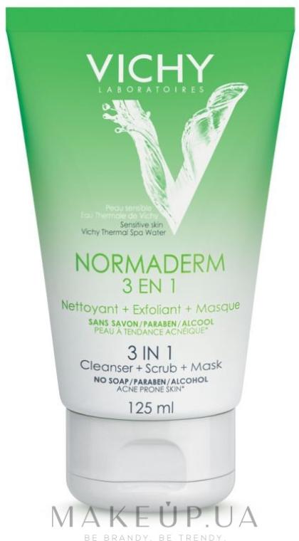 3in1 Gesichtspeeling für empfindliche Haut - Vichy Normaderm Tri-Activ Nettoyant — Bild N3