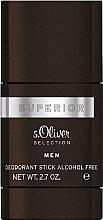 Düfte, Parfümerie und Kosmetik S.Oliver Superior Men - Deostick