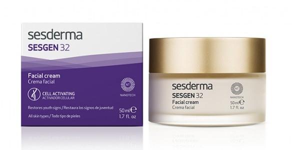 Nährende und zellaktivierende Gesichtscreme - SesDerma Laboratories Sesgen 32 Cell Activating Cream — Bild N2