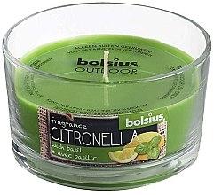 Düfte, Parfümerie und Kosmetik Duftkerze im Glas Citronella Basilic 62/106 mm - Bolsius Candle