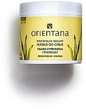 Düfte, Parfümerie und Kosmetik Körperbutter mit Zitronengras und echtem Beinwell - Orientana Body Oil