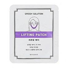 Düfte, Parfümerie und Kosmetik Modellierendes Lifting-Patch für das Gesicht mit Peptiden, Kollagen und Koffein - Missha Speedy Solution Lifting Patch