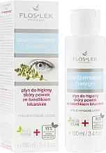 Düfte, Parfümerie und Kosmetik Hygienisches Augenfluid mit Kräuterextrakt - Floslek Eyebright Eyelid Hygiene Liquid