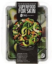 Düfte, Parfümerie und Kosmetik Gesichtspflegeset - Superfood For Skin Skin Limp And Requiring Regeneration (Gesichtsmasken 7x25ml)