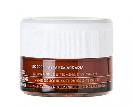 Castanea Arcadia Straffende Tagescreme gegen Falten - Korres Castanea Arcadia Antiwrinkle&Firming Day Cream — Bild N2