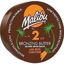 Düfte, Parfümerie und Kosmetik Bronzierende Körperbutter mit Beta-Carotin und Kokosnussduft SPF 2 - Malibu Bronzing Body Butter SPF 2