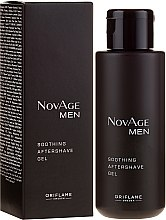 Düfte, Parfümerie und Kosmetik Beruhigendes After Shave Gel - Oriflame NovAge Men Soothing Aftershave Gel