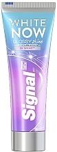 Düfte, Parfümerie und Kosmetik Aufhellende Zahnpasta - Signal White Now Glossy Shine Toothpaste