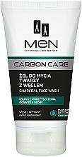 Düfte, Parfümerie und Kosmetik Gesichtsreinigungsgel mit Aktivkohle - AA Men Carbon Care Charcoal Face Wash