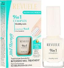 Düfte, Parfümerie und Kosmetik 9in1 Nagelkomplex für gesunde Fingernägel - Revuele Nail Therapy