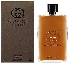 Düfte, Parfümerie und Kosmetik Gucci Guilty Absolute - After Shave Lotion
