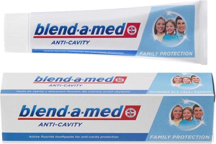 Zahnpasta Anti-Cavity Family Protection - Blend-a-med Anti-Cavity Family Protect Toothpaste