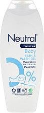 Düfte, Parfümerie und Kosmetik Baby Wasch- und Badegel für emfindliche Haut - Neutral Baby Bath & Wash Gel