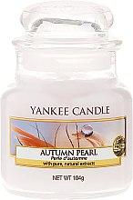 """Düfte, Parfümerie und Kosmetik Yankee Candle Autumn Pearl - Duftkerze im Glas """"Herbst-Perle"""""""