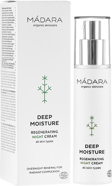 Regenerierende Nachtcreme für das Gesicht - Madara Cosmetics EcoFace — Bild N1