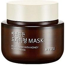 Düfte, Parfümerie und Kosmetik Wärmende Gesichtsmaske mit Honig - A'pieu Bellflower Heating Mask