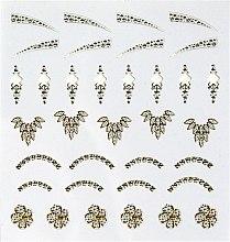 Düfte, Parfümerie und Kosmetik Dekorative Aufkleber Perlen - Peggy Sage Decorative Nail Stickers Jewel