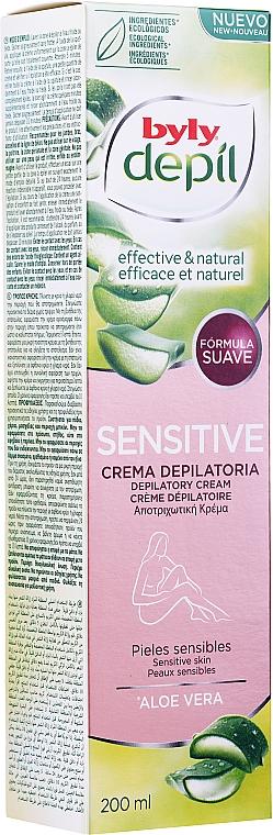 Enthaarungscreme mit Aloe Vera - Byly Depil Depilatory Cream With Aloe Vera — Bild N2