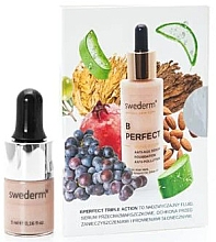Düfte, Parfümerie und Kosmetik Serum-Foundation (Mini) - Swederm B Perfect Triple Action Foundation