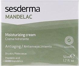 Feuchtigkeitsspendende Anti-Aging Gesichtscreme mit Mandelsäure für trockene Haut - SesDerma Laboratories Mandelac Moisturizing Cream — Bild N1