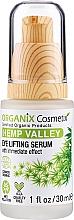 Düfte, Parfümerie und Kosmetik Lifting-Serum für die Augenpartie mit Hanföl - Organix Cosmetix Hemp Valley Eye Lifting Serum