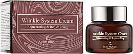 Düfte, Parfümerie und Kosmetik Verjüngende Anti-Falten Gesichtscreme mit Kollagen - The Skin House Wrinkle System Cream