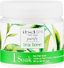 Düfte, Parfümerie und Kosmetik Fußbadesalz mit Teebaumextrakt - IBD Tea Tree Purify Pedi Spa Soak