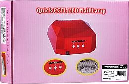 Düfte, Parfümerie und Kosmetik UV/LED Lampe für Maniküre - Silcare Diamond LED CCFL UV 36W Lamp White