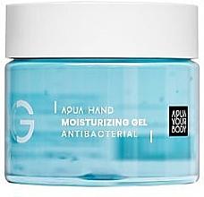 Düfte, Parfümerie und Kosmetik Antibakterielles feuchtigkeitsspendendes Handgel - Aquayo Aqua Hand Moisturizing Gel Antibacterial