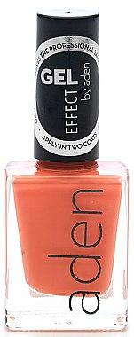Nagellack - Aden Cosmetics Gel Effect Nail Polish