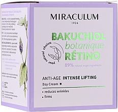 Düfte, Parfümerie und Kosmetik Straffende Anti-Falten Tagescreme mit Lifting-Effekt - Miraculum Bakuchiol Botanique Retino Anti-Age Intensive Lifting