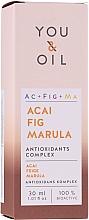 Düfte, Parfümerie und Kosmetik Gesichtsserum mit Acai und Marula - You & Oil Acai Fig Marula