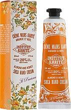 Düfte, Parfümerie und Kosmetik Handcreme mit Mandel, Honig und Scheabutter - Institut Karite Almond And Honey Hand Cream