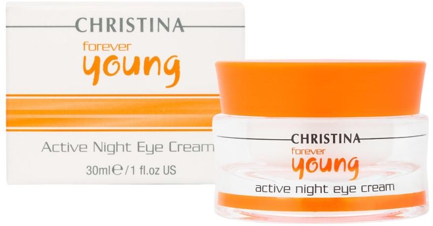 Aktive Nachtcreme für die Augenpartie - Christina Forever Young Active Night Eye Cream — Bild N2