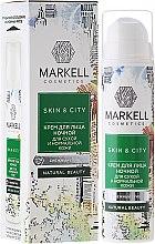 Düfte, Parfümerie und Kosmetik Nachtcreme für trockene und normale Haut - Markell Cosmetics Skin&City Face Cream