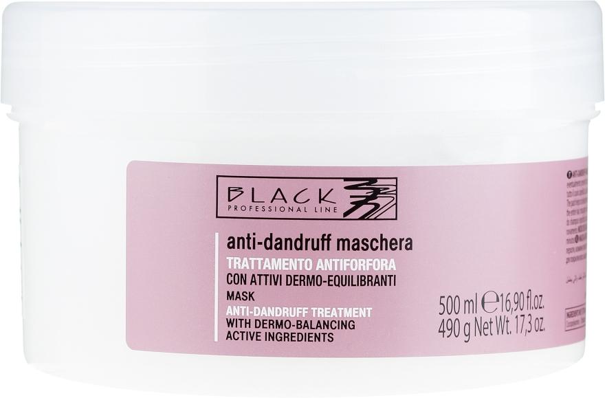 Anti-Schuppen Haarmaske - Black Professional Line Anti-Dandruff Mask