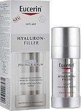 Düfte, Parfümerie und Kosmetik Regenerierendes Peeling-Serum für die Nacht mit Hyaluronsäure - Eucerin Hyaluron-Filler Night Peeling & Serum
