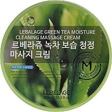 Düfte, Parfümerie und Kosmetik Feuchtigkeitsspendende und reinigende Massagecreme für das Gesicht mit Grüntee-Extrakt - Lebelage Green Tea Moisture Cleaning Massage Cream
