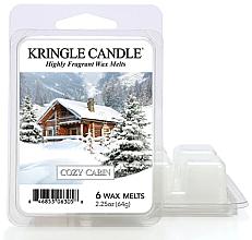 Düfte, Parfümerie und Kosmetik Duftwachs Cozy Cabin - Kringle Candle Wax Melt Cozy Cabin