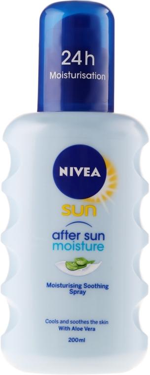 Feuchtigkeitsspendendes und beruhigendes Körperspray nach dem Sonnen - Nivea Sun Care Apres Spray De Soin — Bild N1